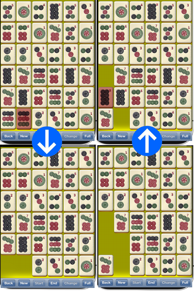 Screenshot zMahjong Mini Free